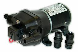 Flojet 04405143A Quad DC Water System Pump, Bypass Included,