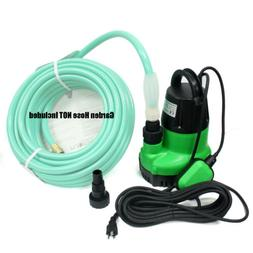 1-1/4HP Submersible Sump Pump Dirty Clear Water Pool Pond Dr