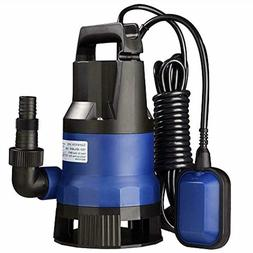 Yescom 1/2 HP 2112GPH 400W Submersible Dirty Clean Water Pum