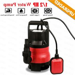 1/2 HP Submersible Pump 110V/60Hz Clean/Dirty Submersible Wa