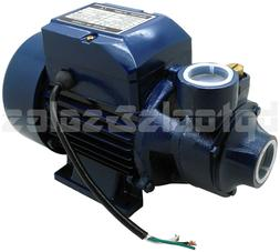1 2hp centrifugal clean clear water pump