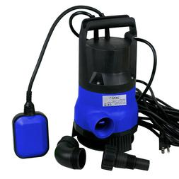 1/2HP Clean/Dirty Submersible Water Pump Swimming Pool Pond