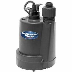 Submersible Utility Water Pump 1/4 HP Garden Hose Standing P