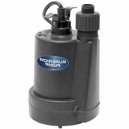 1/4 HP Submersible Utility Pump Garden Hose Standing Water P