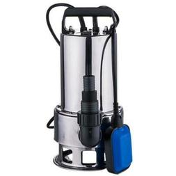 1.5HP 4300GPH Stainless Steel Water Submersible Pump Clean/D