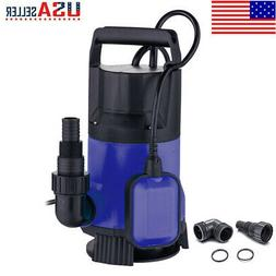 1.5HP 4300GPH Submersible Clean Dirty Water Pump Swimming Po