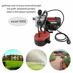 1.5HP Electric Stainless Steel Pump Water Jet Garden Shallow