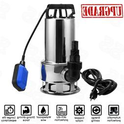 1.5HP Submersible Pumps Stainless Steel Sump Pumps Electric