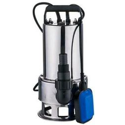 1.5HP Water Submersible Pump Stainless Steel Silver Clear Di