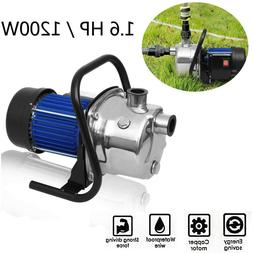 1.6HP Electric Shallow Well Pressurized Home Irrigation Gard