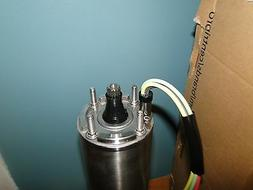 "NEW GOULDS 1 HP 1 PHASE 4"" CENTRIPRO SUBMERSIBLE PUMP MOTOR"