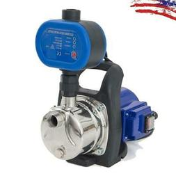 110V Shallow Well Electric Garden Water Pump Pressurized Hom