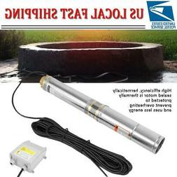 110V Stainless Steel Deep Well Water Pump Submersible Pump 3