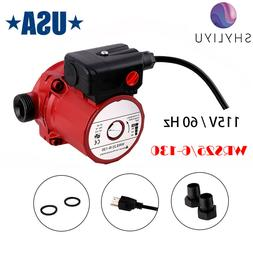 "SHYLIYU 115V 1.5""Outlet Water Pressure Booster Pump Cast-Iro"