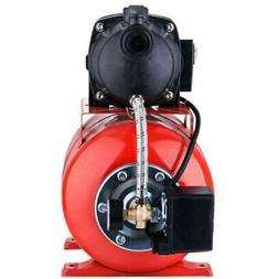 1200W 1.6 HP Electric Booster Pump Shallow Well Booster Wate