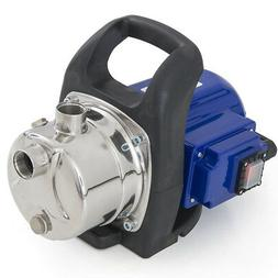 1200W Shallow Well Water Booster Pump Home Stainless Garden