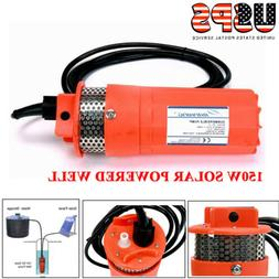12V 150W Submersible Deep Well Water Pump Alternative Energy