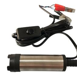 12V DC 38mm Electric Submersible Water Oil Diesel Fuel Trans