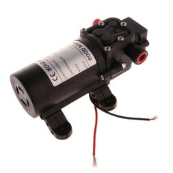 12V DC Diaphragm Water Pressure Pump for Sink,Tap, Shower, M