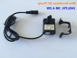 12V Small DC Water Pump 240LPH 3M 4.2W Mini Submersible Wate