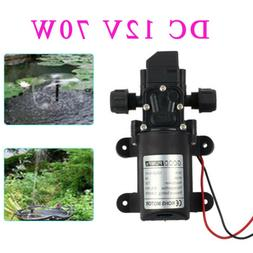 12V Water Pump 70W 130PSI High Pressure Micro Diaphragm with