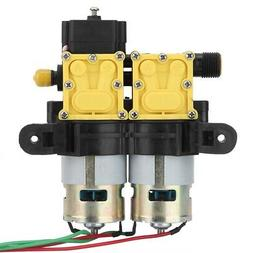 12V Water Pump With Pressure Switch Dual Fans Good Heat Diss