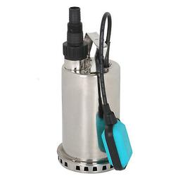 3000GPH 1HP Water Submersible Pump  Utility Pump Pool Pond F
