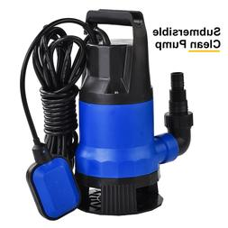 1HP 3432GPH Submersible Dirty Clean Water Pump Swimming Pool