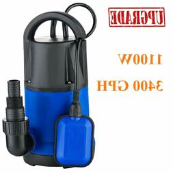 1HP Sump Pumps Submersible Water Pump Electric Transfer Wate