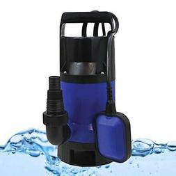 1x Plastic Water Pump 1HP 3432GPH Submersible Clean Dirty Po