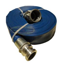 """2"""" inch water pump hose discharge camlocks New 60' ft feet f"""