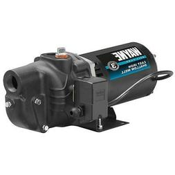 3/4 HP Shallow Well Jet Pump Cast Iron Motor Water Priming P