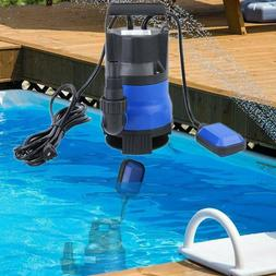 3/4HP 550W Clear Dirty Water Submersible Plastic Pump Swimmi