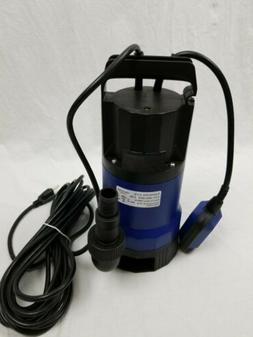 Yescom 3/4HP Submersible Dirty/Clean Water Pump, 115 Volts,