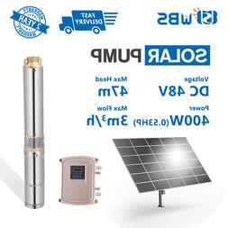"""3"""" DC Solar Water Pump 48V 400W Submersible MPPT Controller"""