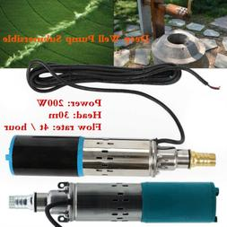 Deep Well Submersible Electric Water Pump Head Stainless Ste