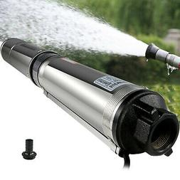 """Submersible Water Pump, Deep Well, 1/2HP, 220V, 25.5GPM, 4"""""""