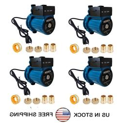 4 Pack Automatic Booster Pump NPT 3/4'' Domestic Circulation