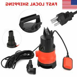 400W Electric Submersible Water Pump Swimming Pool Dirty Flo
