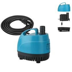 440GPH Small Submersible Water Pump Aquarium Fish Tank Pond