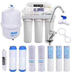 Yescom 5-Stage Home Drinking Aquarium RO Reverse Osmosis Sys