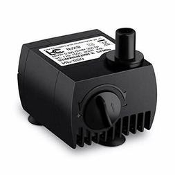 VicTsing 80 GPH  Submersible Water Pump for Pond, Aquarium,