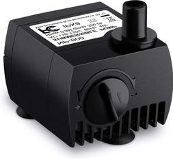 80 GPH  Submersible Water Pump for Pond Aquarium, Fish Tank