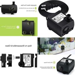 Homasy 80 Gph  Submersible Water Pump, Ultra Quiet For Pond,