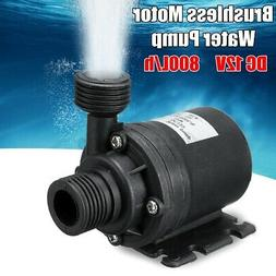 800L/H Lift 5M Quiet Circulation Submersible Water Pump Brus