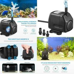 Homasy 920Gph Submersible Pump, Ultra Quiet Fountain Water P