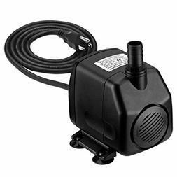 Homasy 920GPH Submersible Water Pump with 5.9ft  Power Cord,