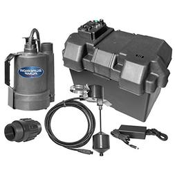 Superior Pump 92910 Powered Battery Back Up Sump Pump With V