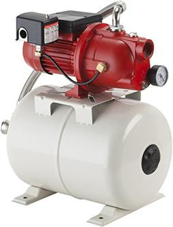 97080503 shallow well jet pump and tank package 5.8 gallon