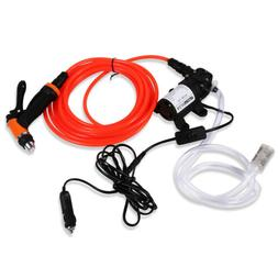 Portable 12V Jet Spray Car Wash Washer Gun High Pressure Ele